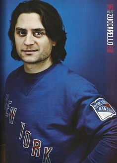 Mats Zuccarello - 2013-2014 NY Rangers Yearbook
