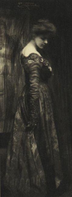 """Miss Ide"" Frank Eugene, ca. 1890-1903"