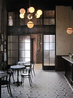 Floor to Ceiling Windows Ideas, Benefits, and How to Install architecture home house design art furniture spaces loft NYC New York real estate interior design interior decorating contemporary vintage antique modern - Add Modern To Your Life Pub Interior, Modern Interior Design, Interior Architecture, Interior And Exterior, Vintage Architecture, Commercial Design, Commercial Interiors, Restaurant Design, Zigarren Lounges