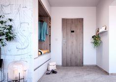 Dveře Sapeli - Elegant CPL borovice šedá struktur Ironing Center, Furniture, Home, Interior, Entrance Doors, Storage, Bathtub, Entryway, Home Decor