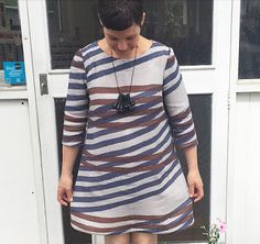The Drapery Blog: Lotta Jansdotter's Esme Tunic from Everyday Style in Nani Iro