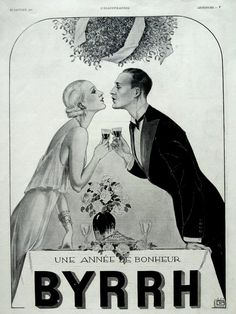 BYRRH french aperitif antique advertising page from 1931 by OldMag, $10.00
