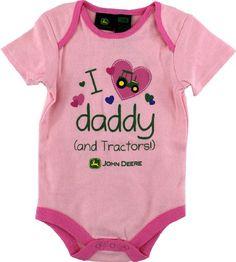 "John Deere ""I Love Daddy (and Tractors!)"" Pink Infant Girls Bodysuit Onesie 12M-24M (18M) John Deere,http://www.amazon.com/dp/B009CY8U6Q/ref=cm_sw_r_pi_dp_ie.esb0EZBV76ZRE"