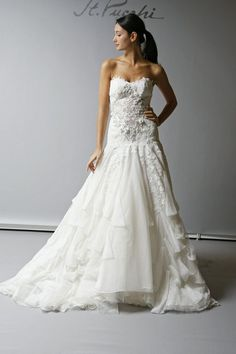 Sheath Wedding Dress : 9421_Front.jpeg
