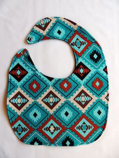 Native American Baby Bibs by SheLahNanabahDesigns (Sheila Moyer, Diné) on Etsy