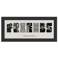 Friends Framed Photo Mat, I know you can buy these frames for about any word...friends, soccer, parents, family...and so on.
