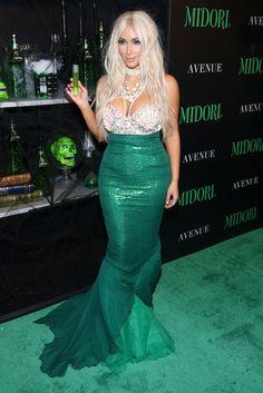 kim kardashian mermaid costume :)