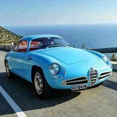 Alfa Romeo Giulietta Sprint Zagato #alfaromeozagato