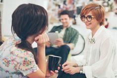 Designers on a Coffee Break by Lumina