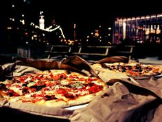 Grimaldis Pizza Brooklyn Bridge Park  This place and Lombardi's have great reviews!