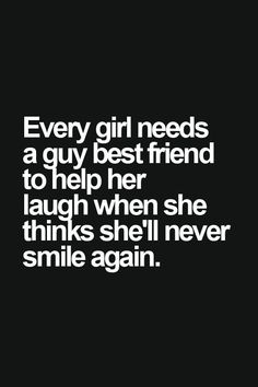 Every girl needs a boy bestfriend - Tap to see more quotes on friendships between girls & boys! | @mobile9