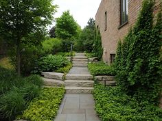 bluestone and stone steps