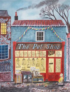 """The Pet Shop"" by Emily Sutton (from ""All Things Considered"" by Simon Lewin)"