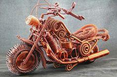 Harley Motorcycle, Harley Motor series NO.4, motor miniature, motor model, Davidson model, souvenir 35cm*18cm*23cm, 750g