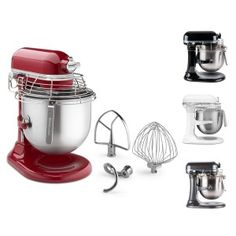 Fuel your culinary passion with the revolutionary KitchenAid Empire Red NSF Certified® Commercial Series 8 Quart Bowl-Lift Stand Mixer with Stainless Steel Bowl Guard, product number Home Baking, Baking Tips, Mechanical Power, How To Make Dough, Road Trip Snacks, Kitchenaid Stand Mixer, Stainless Steel Bowl, Cake Decorating Supplies, Small Appliances