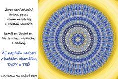 Mandala Nemusíš závodit ani soupeřit Mandala, Outdoor Blanket, Decor, Hampers, Decoration, Decorating, Mandalas, Deco