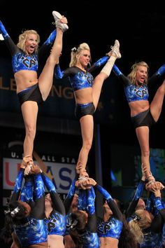Cheer Athletics! Heck yes! (: