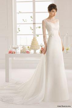 Aire Barcelona Wedding Dresses 2015 | Wedding Inspirasi
