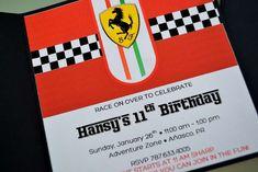 Ferrari inspired / Racecars Birthday Party Ideas   Photo 1 of 21
