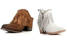 Fringe and lace are forever closet staples for a cowgirl. Check out these cute, classic pieces for relaxed days and our classy cowgirl version of resort wea Cowgirl Style, Cowgirl Boots, Fringe Booties, Country Fashion, Cool Boots, Country Girls, To My Daughter, Fashion Boots, Booty