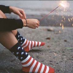 American Flag Dress Socks | Patriotic Groomsmen Socks | Military Wedding Socks