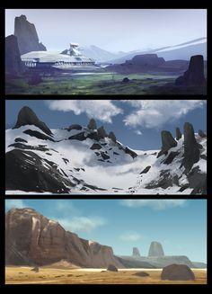 Landscapes, Sam  Brown on ArtStation at http://www.artstation.com/artwork/landscapes-38575e2f-51ac-4f26-81ef-91ec60b4797e