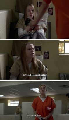 "Piper on stealing books: | The 25 Greatest Lines From ""Orange Is The New Black"" Season 2"