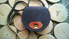 Leather shoulder bag Womens handmade leather by TheSacredWays