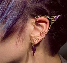 elf ear fairy wire cuff