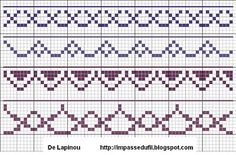 The impasse Wire | Grid Cross Stitch: Border (5) | series of free simple cross stitch borders