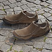 Absolutely Prehistoric Footwear: Collapsible Leather Travel Shoes