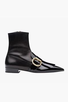 Our Really Big (& Rad) Guide To Buying Ankle Boots This Fall #refinery29  http://www.refinery29.com/best-womens-ankle-boots#slide-22  Prada always pushes the boundaries well. You can count on these weird boots being It for fall.Prada Ankle Boot, $1,150, available at Prada....