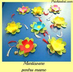 Spring Activities, Paper Flowers, Origami, Mame, 8 Martie, Origami Paper, Origami Art