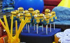 Minion Cake pops! Despicable Me
