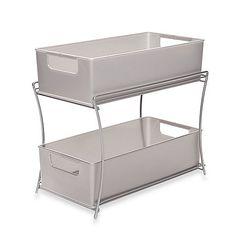 2 tier under the sink baskets