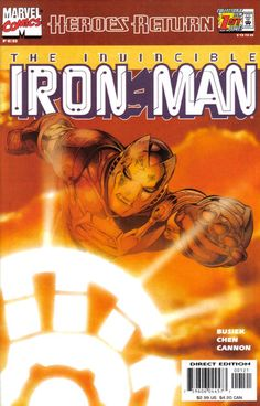Iron Man Vol. 3 # 1 (Variant) by Sean Chen & Eric Cannon