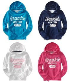 areopostal girls shirts  | Aeropostale womens New York 1987 sweatshirt hoodie