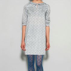 Dress & tights...love the dress but would like it even more with an old brown belt