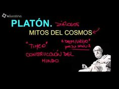 Platón. Los mitos del cosmos - YouTube