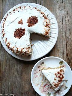 Delicious blog: Cuketovo-jablkovo-mrkvový koláč