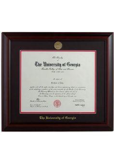 Uga diploma frames