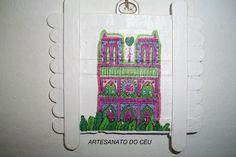 Quadrinho Palito Notre Dame