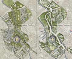 Queen Elizabeth II Olympic Park, London, U. Urban Design Concept, Urban Design Diagram, Urban Design Plan, The Plan, How To Plan, Architecture Plan, Landscape Architecture, Architecture Diagrams, Architecture Portfolio