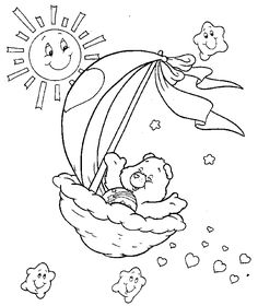 care bears coloring pages images
