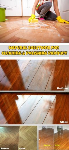 Natural solutions for cleaning and polishing parquet - CleaningTutorials.com