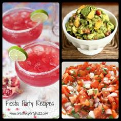 Fiesta party recipes for Cinco de Mayo