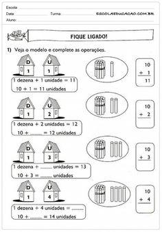 Atividades de Matemática 1º ano - Somar