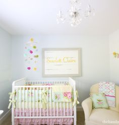 scarlett's nursery tour - before and after!