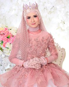 Muslimah Wedding Dress, Muslim Wedding Dresses, Muslim Brides, Bridal Dresses, Wedding Gowns, Bridal Hijab, Hijab Bride, Wedding Hijab, Beautiful Bride