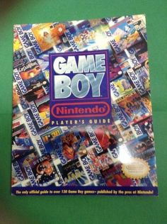 The Official Nintendo Game Boy Player's Guide Strategy Cheat Guide Book…